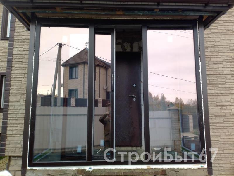 пластиковое окно в частном доме