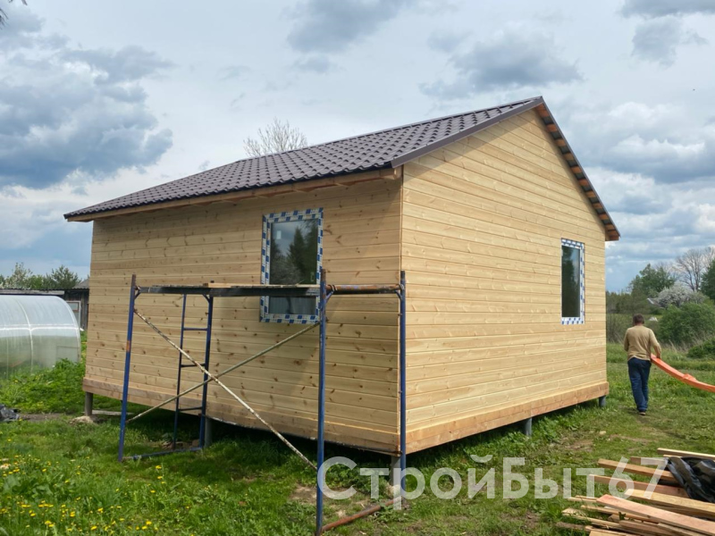 дом каркасный 6 на 6 метра